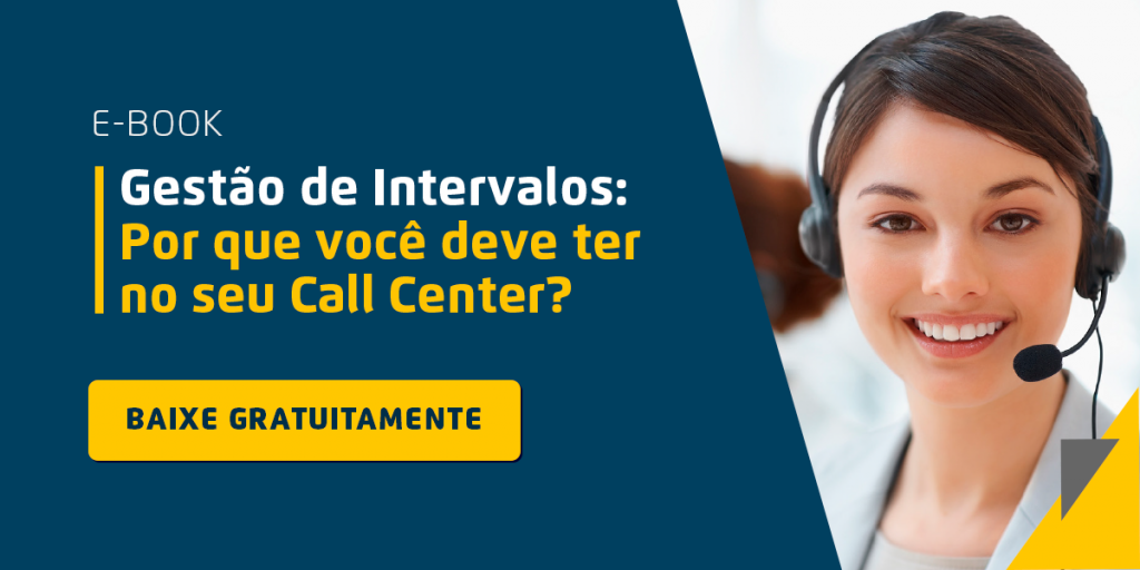 Indicadores de performance dos agentes de Call Center